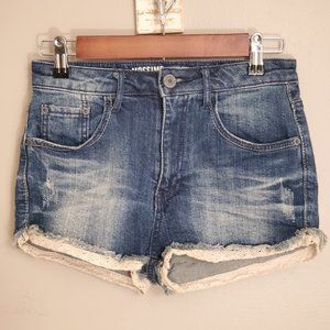 Mossimo High Rise Jean Shorts Size 3
